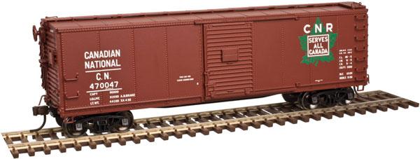 Atlas 20004356 HO 40 Ft USRA Steel Rebuilt Boxcar - Master Line - Canadian National #470047