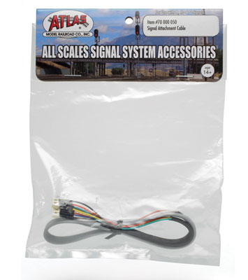 Atlas Model Railroad Co. 70000050 Signal Attachment Cable - All Scales Signal System 150-70000050