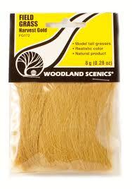 Woodland Scenics 172 Field Grass Harvest Gold