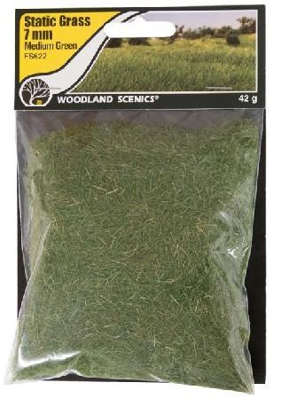 Woodland Scenics Static Grass 12mm 626 Medium Green