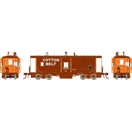 Athearn G78540 - HO Scale ICC Caboose w/lights DCC Ready - SSW #89