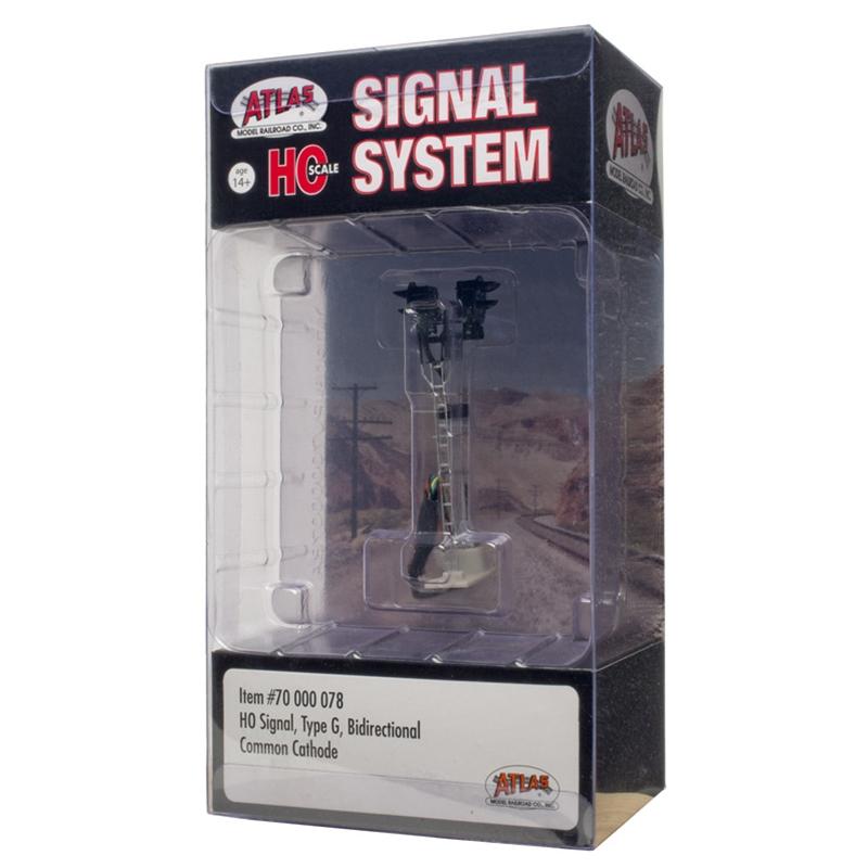Atlas 70000078 - HO Single Type G - Bi-Directional