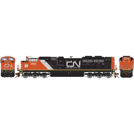 Athearn Genesis G70680 HO - G2 SD70M-2 - DCC & Sound - CN-25/Heritage #8898