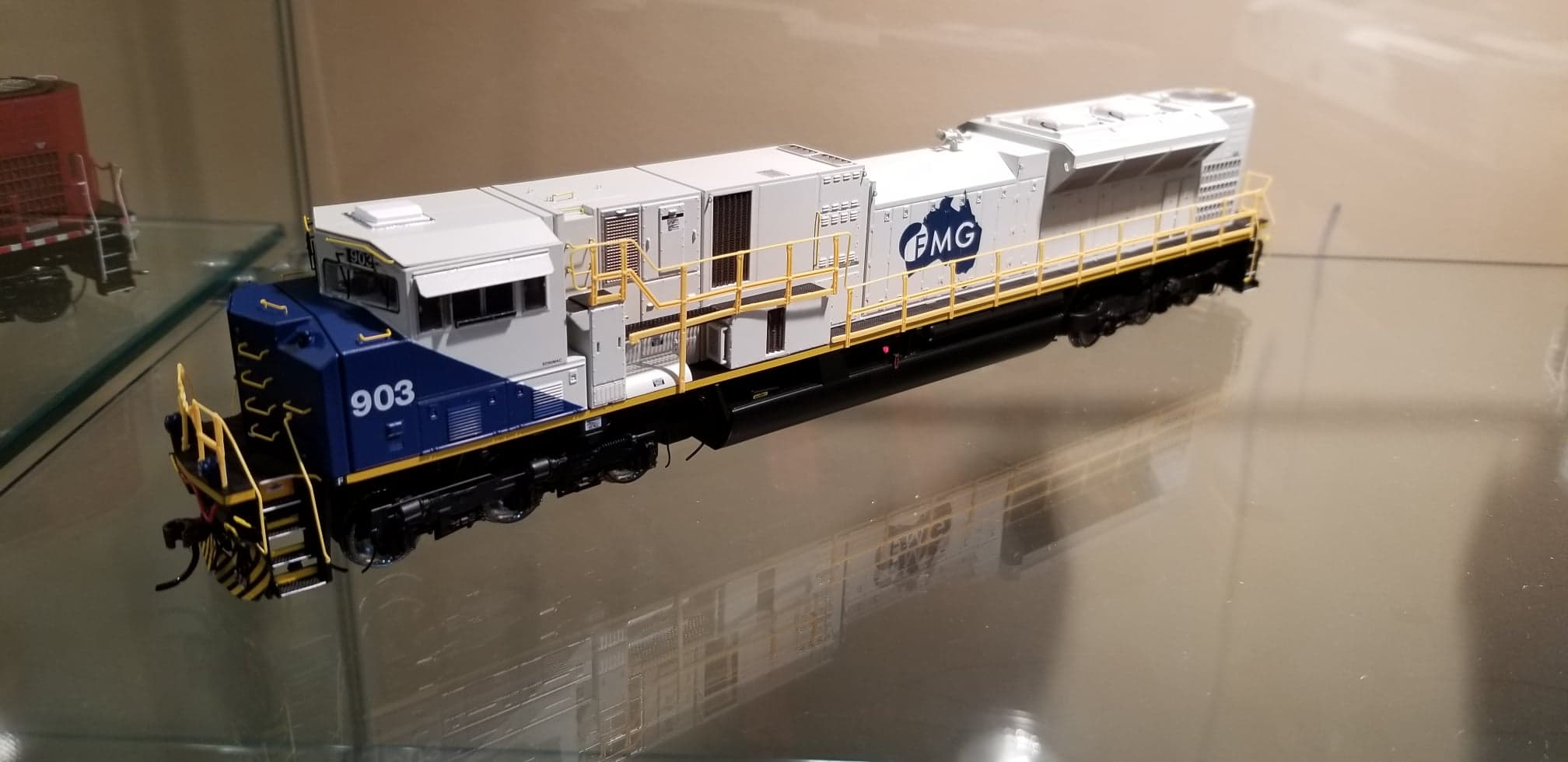 Athearn Genesis G27237 HO Scale SD90MAC-H Phase 2 DCC Ready FMG 904