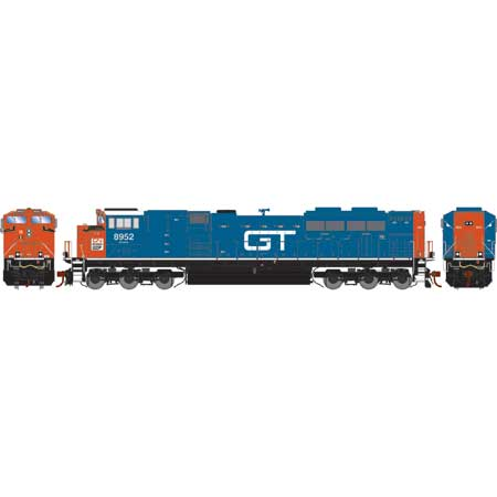 Athearn Genesis G70583 HO - G2 SD70M-2 - DCC Ready - CN/GT/Heritage #8952