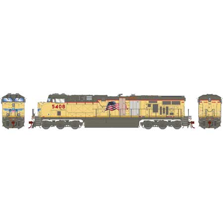 Athearn G83085 - HO Scale ES44AC DCC Ready Diesel - UP Replacement Doors #5408