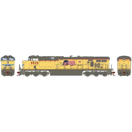 Athearn G83187 - HO Scale ES44AC DC/DCC/Sound Diesel - UP Faded #5529
