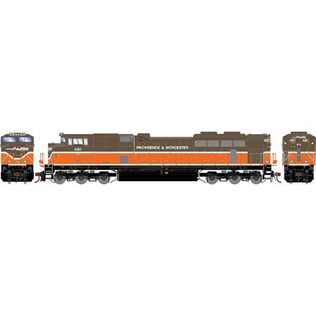 Athearn Genesis G70684 HO - G2 SD70M-2 - DCC & Sound - Providence & Worcester #4301