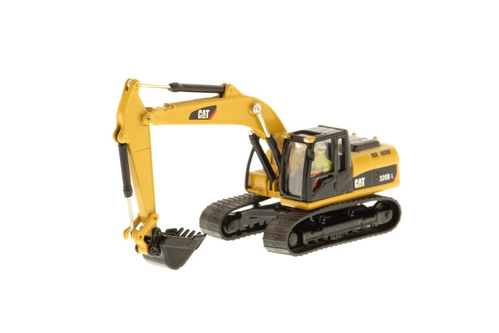 Diecast Masters-85262 - HO Diecast 1:87 CAT 320D L Hydraulic Excavator