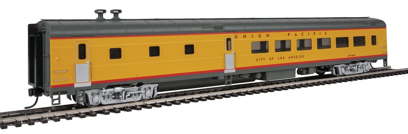 Walthers Proto 18603 - HO 85ft ACF 48-Seat Diner - Lighted - Union Pacific (Overland) #302