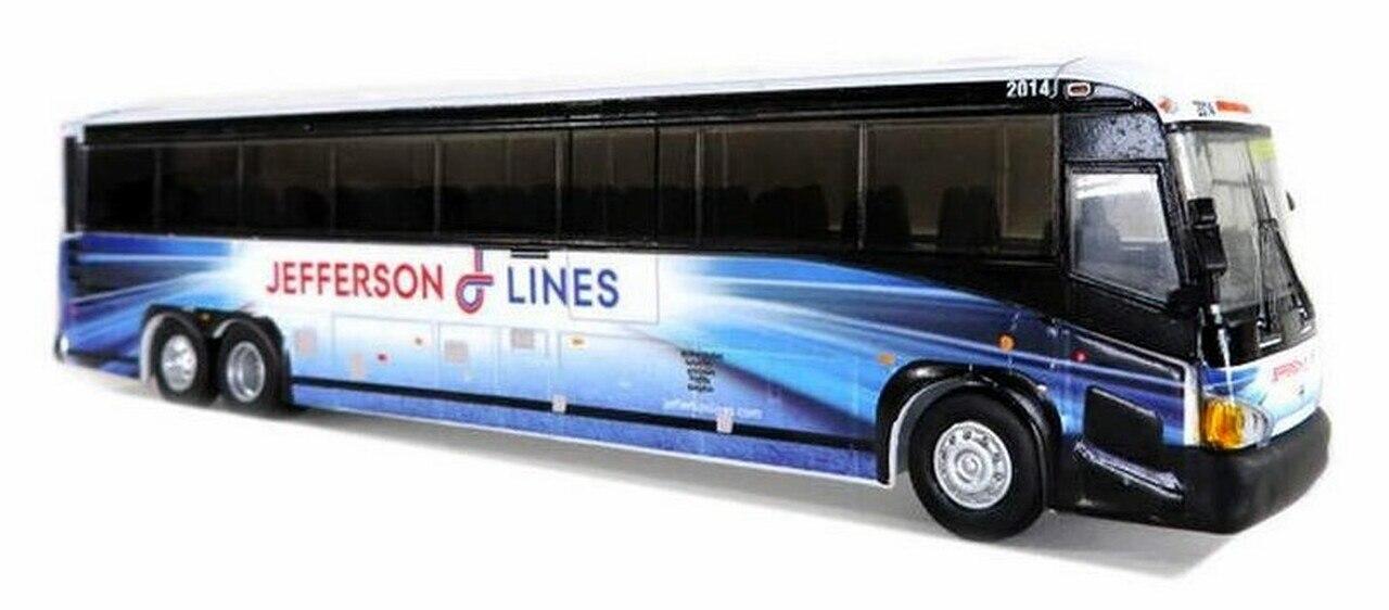 Iconic Replicas 870221- 1:87 MCI D4505: Jefferson Lines