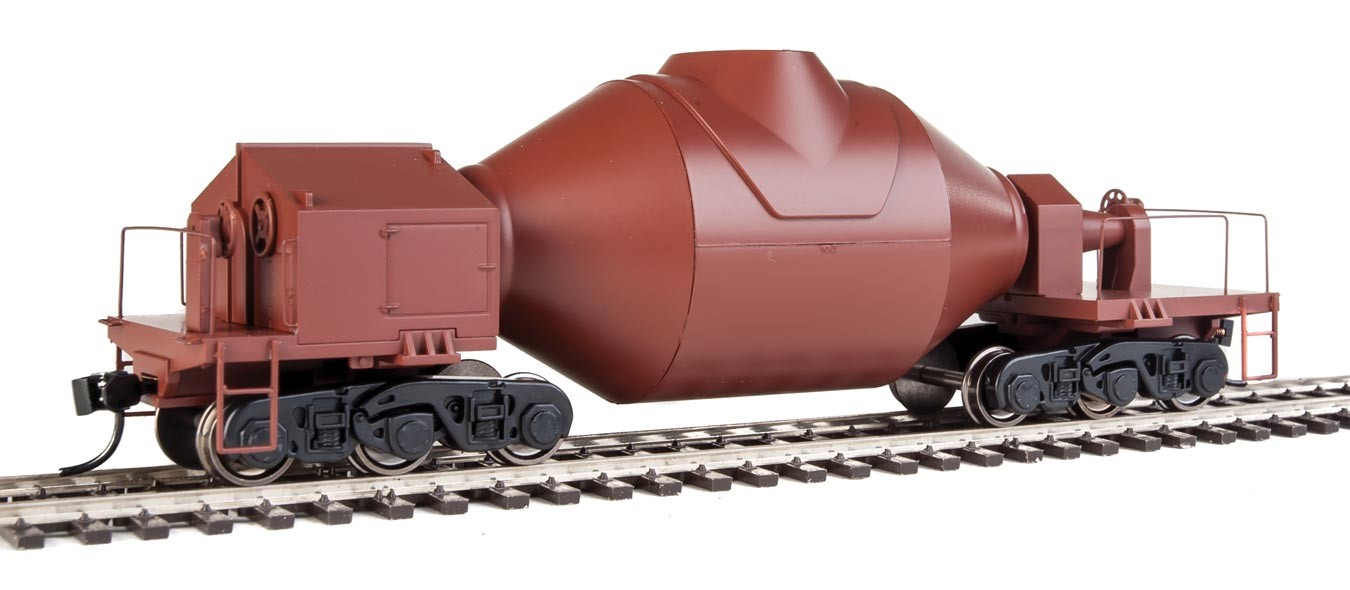 Walthers Proto 107901 HO Scale - Hot Metal Bottle Car - Rust with Decal Numbers (Undecorated/Unlettered) - pkg(2)