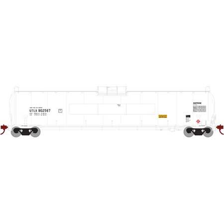 Athearn G25602 HO - RTR UTC 33,900 Gallon LPG Tank/Flat - UTLX #910201