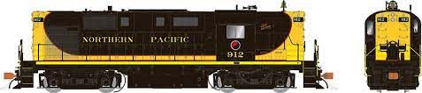Rapido 31580 HO - Alco RS-11, 2nd Run - Diesel Locomotive - DCC & Sound - Northern Pacific - Delivery #912