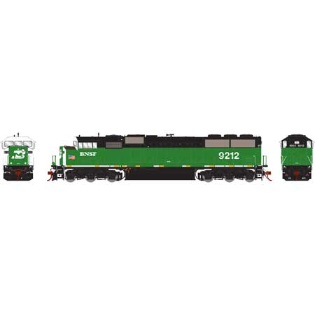 Athearn Genesis G75504 HO - SD60M Diesel Tri-Clops - DCC Ready - BNSF #9212