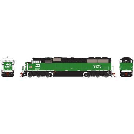Athearn Genesis G75502 HO - SD60M Diesel Tri-Clops - DCC Ready - BN #9222