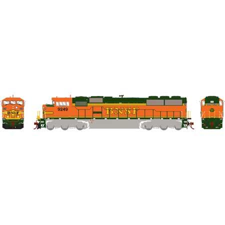 Athearn Genesis G75507 HO - SD60M Diesel Tri-Clops - DCC Ready - BNSF #9249