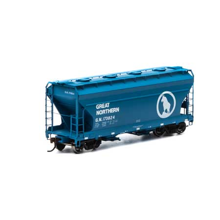 Athearn RTR 93925 - HO ACF 2970 Covered Hopper - Great Northern #173824