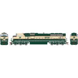 Athearn Genesis G64805 HO Scale - SD70MAC Diesel, DCC/ Ready - Burlington Northern #9530