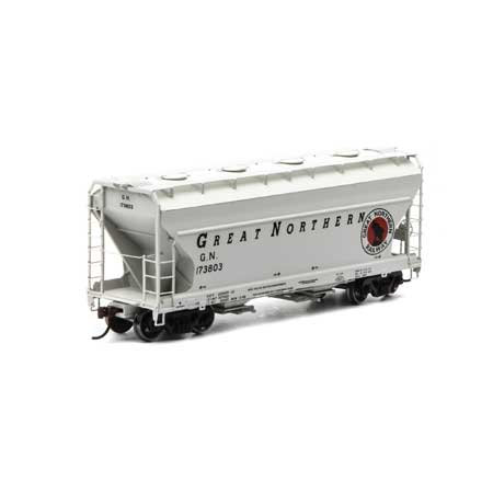 Athearn RTR 93979 - HO ACF 2970 Covered Hopper - Great Northern #173803