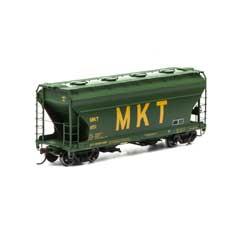Athearn RTR 93992 - HO ACF 2970 Covered Hopper - MKT (3pk)