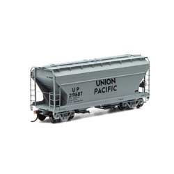 Athearn RTR 93998 - HO ACF 2970 Covered Hopper - Union Pacific (3pk)