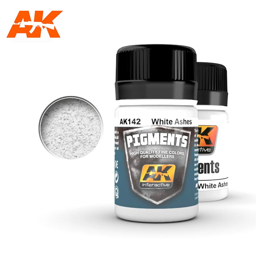 AK Interactive 142 White Ashes Pigment 35ml