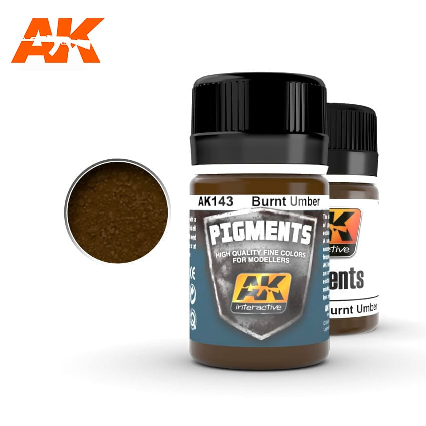 AK Interactive Burnt Umber Pigment 35ml