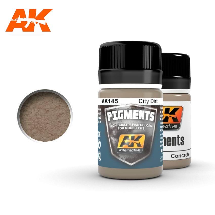 AK Interactive 145 City Dirt Pigment 35ml