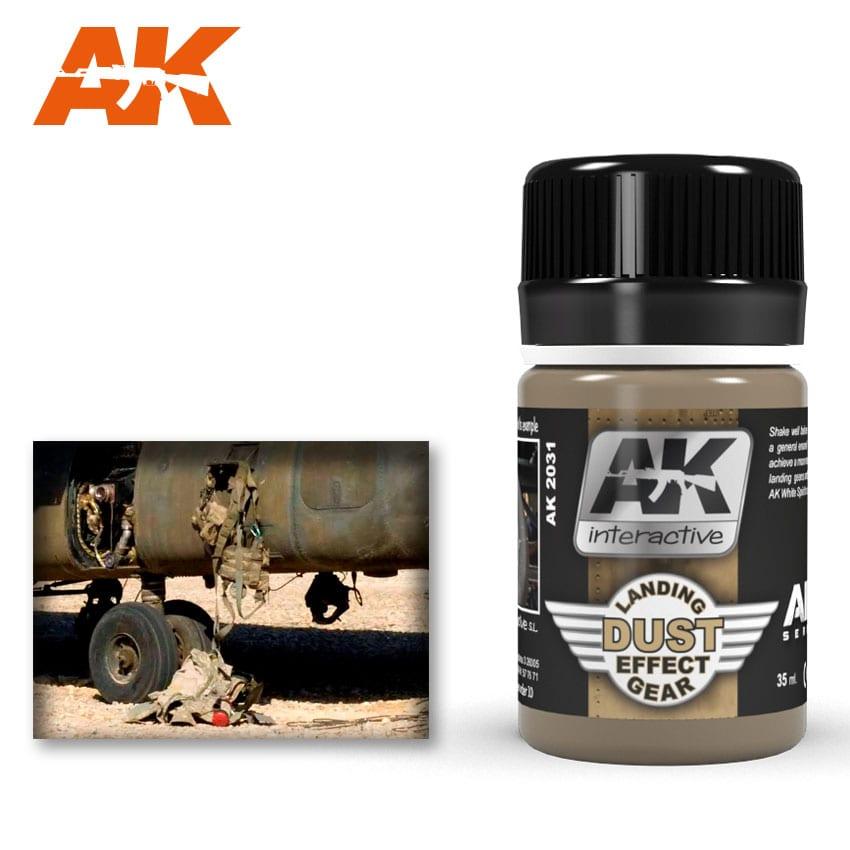 AK Interactive 2031 Air Series Landing Gear Dust Effect Enamel Wash 35ml