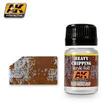 AK Interactive Heavy Chipping Acrylic Fluid