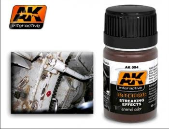 AK Interactive Interior Streaking Effects