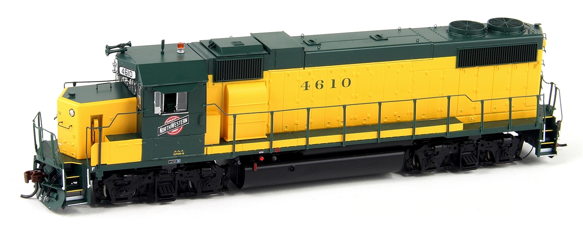 Athearn Genesis HO G65347 GP38-2, Chicago and Northwestern (Original Yellow) #4630 DCC Ready
