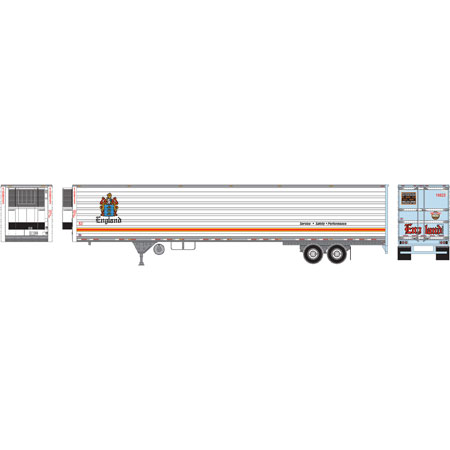 Athearn RTR 17919 - HO 53ft Utility Reefer Trailer - England #10856