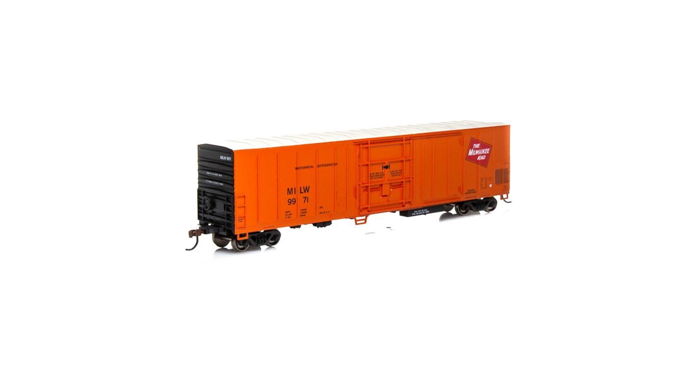 Athearn 71164 - HO RTR 57ft Mechanical Reefer - MILW #9971