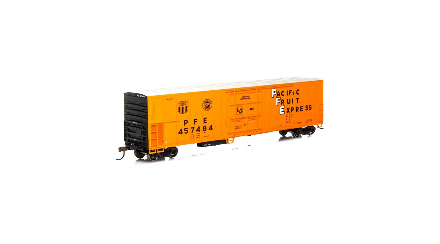 Athearn 71182 - HO RTR 57ft Mechanical Reefer - PFE #457484