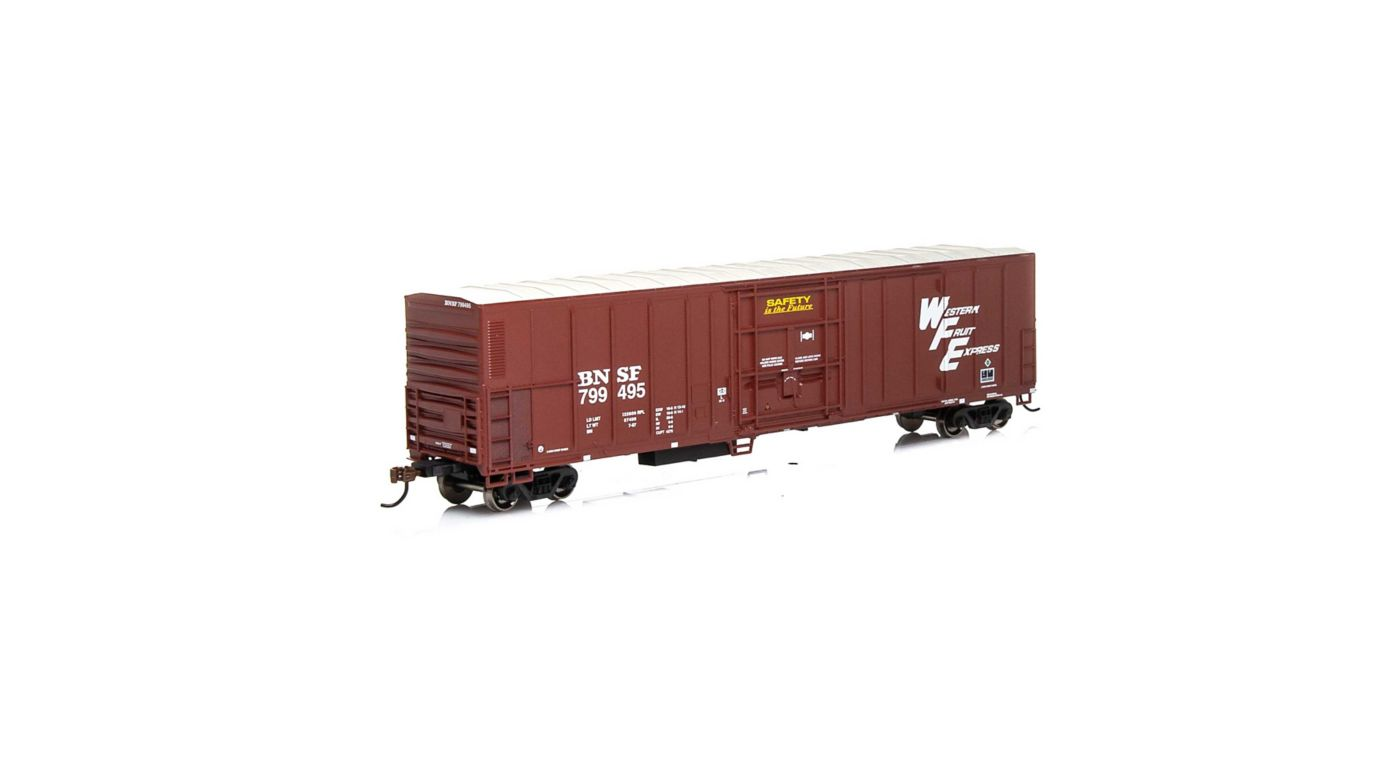 Athearn 72875 - HO RTR 57ft Mechanical Reefer - BNSF Brown #799495