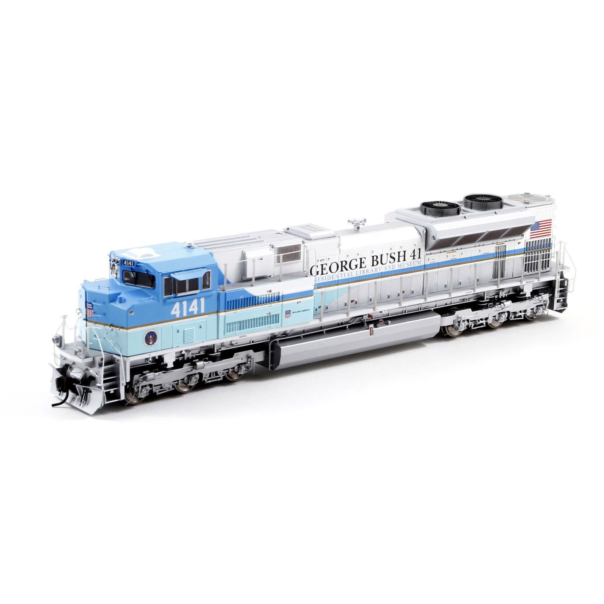 Athearn Genesis G41410 HO Scale  SD70ACe, UP/George HW Bush #4141 DCC Ready