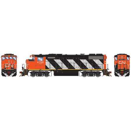 Athearn Genesis G65392 HO Scale GP38-2(W) GMD, Canadian National #4774 DCC Ready 140-G65392 Pre-order