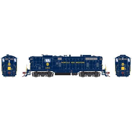 Athearn Genesis G78262 - HO GP7 - DCC/Sound - Norfolk & Western (Ex-Wabash) #3453