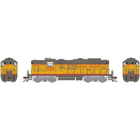 Athearn Genesis G82340 - HO GP9 w/DCC & Sound - Union Pacific #345