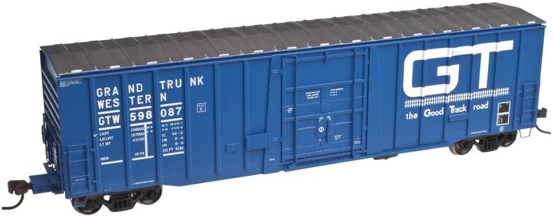 Atlas Model Railroad Master Line HO 20002904 NSC 5182 50' Plug Door Box Car, Grand Trunk Western #598053