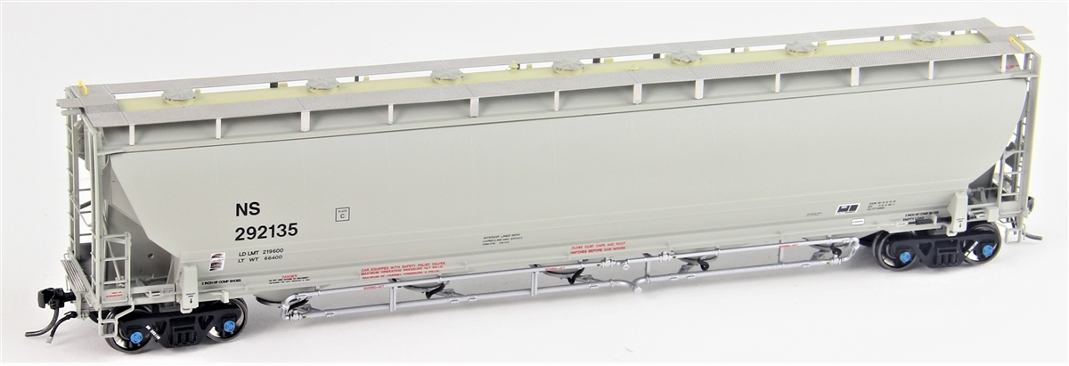 Atlas Model Railroad Co. 20004282 HO Scale Trinity 5660 PD Covered Hopper - Ready to Run -- Norfolk Southern #292148   150-20004282