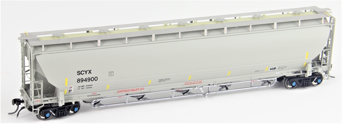 Atlas Model Railroad Co. 20004298 HO Scale Trinity 5660 PD Covered Hopper - Ready to Run -- First Union SCYX #894956   150-20004298