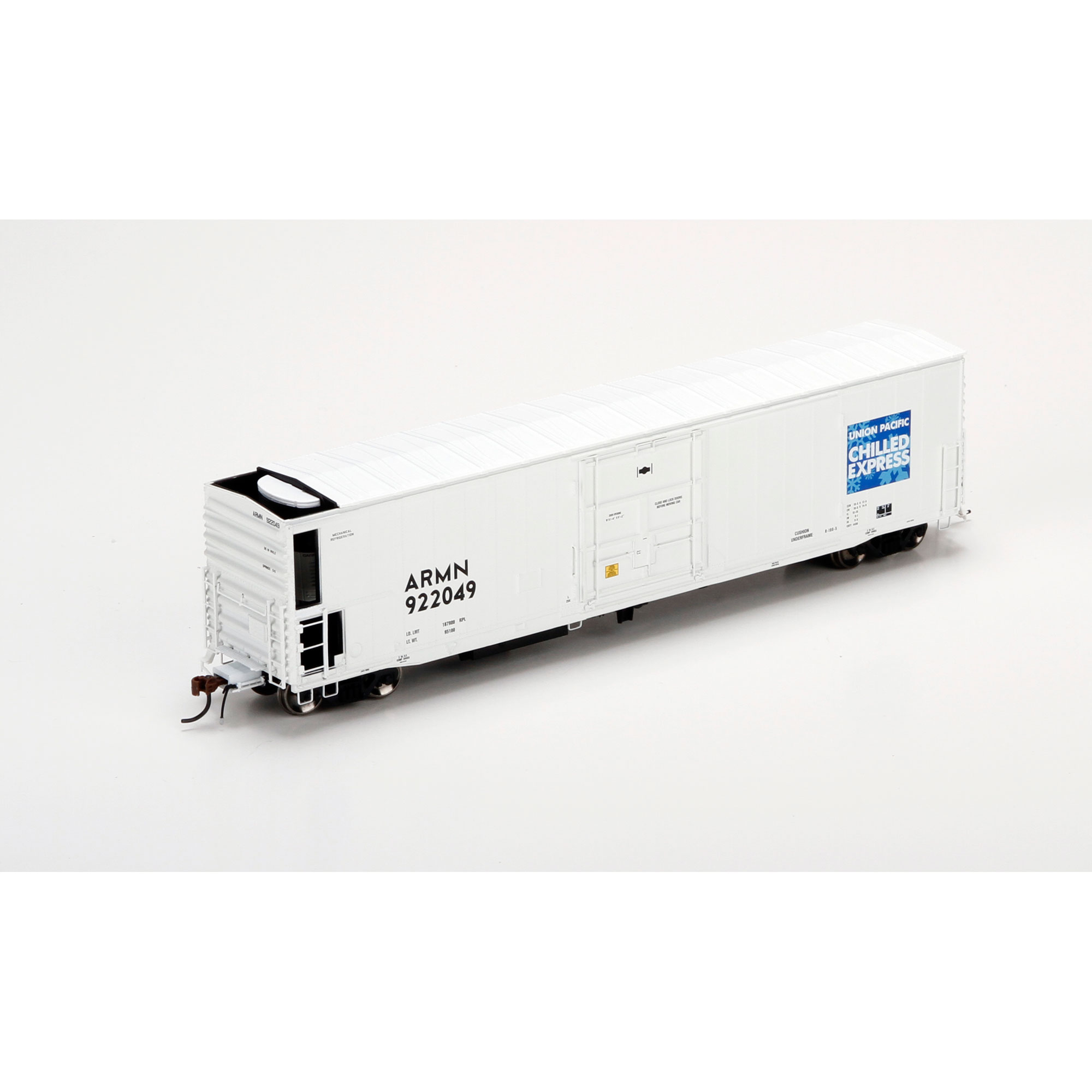 Athearn G63399 HO 57 Ft FGE Mech Reefer w/sound, Union Pacific /ARMN #922049