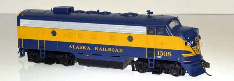Bowser Executive Line Diesel F7a DCC & ESU Lok Sound Alaska Railroad #1506