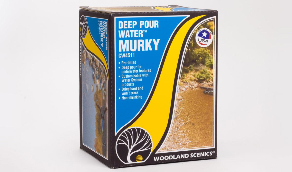 Woodland Scenics 4511 Deep Pour Water - Murky