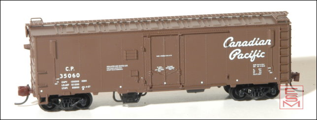 Eastern Seaboard Models 226303 N Scale 40 FT Insulated Boxcar - Canadian Pacific - script herald - 35403