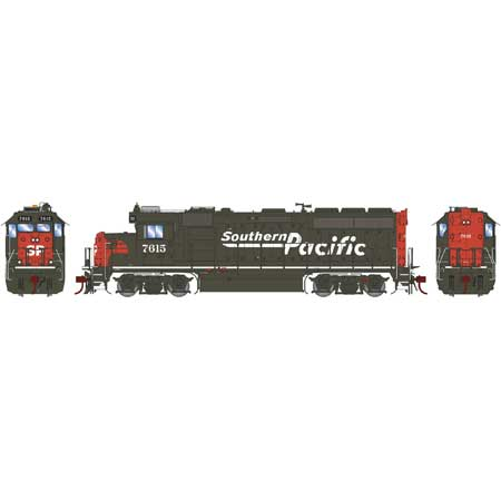 Athearn Genesis G65052 - HO GP40-2 Diesel - DCC Ready - SP #7615