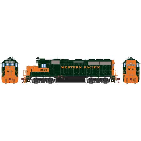 Athearn Genesis G65156 - HO GP40-2 Diesel - w/DCC & Sound - WP #3550